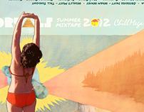 CMC and Portals Summer Mixtape Cover