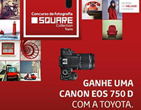 Website - Toyota Yaris Square Collection