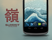 Summit 3D live wallpaper