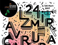 "Izmir European Jazz Festival ""Poster"""