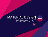 Material Design Full UI Kit