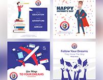 Destination Overseas | Social Media Design