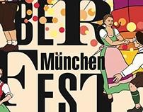 Oktoberfest Plakat München