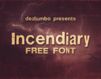 Incendiary – Free Font