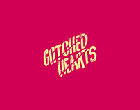Glitched Hearts-Logo Branding