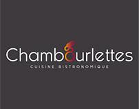 LES CHAMBOURLETTES : Logo, Print et Enseigne