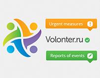 Social network for volunteers