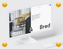 Born & Bred - Website