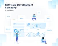 UI / UX Design for Software Development Company