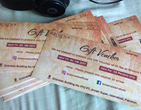Browns Cafe Vouchers