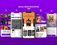 Social Media Bookstore App