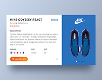 Nike Product Page Concept