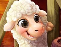 sheep - Family Farm