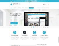 Creatiz WP theme - Designed to make a difference