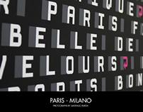 Paris Milano - Photo book