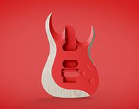Ibanez RGD Guitar