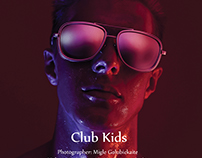 """Club Kids"" editorial for BRING ME magazine"