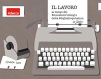 Adecco Italia - Infographic