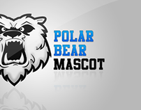 Polar Bear Mascot Design