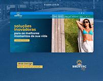 Web Design Site Institucional Brustec Lazer - Wordpress