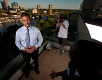Behind the Scenes with Sacramento Mayor Kevin Johnson