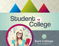 Student vs College - College Prospectus Brochure