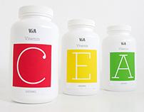 VIA: Vitamin Package Design