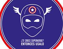 ¿Te crees superhéroe? - Intervención Urbana