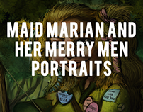 Maid Marian And Her Merry Men Portraits (old)