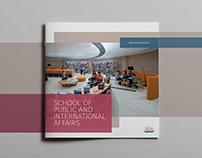 Admission Brochure, SPIA, ADA University