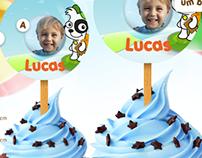 Toppers personalizados para cupcake com bottom
