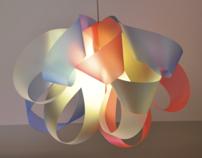 """Light sculpture """"Amebius"""""""