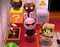 Diseñando en Animal Crossing: New Leaf