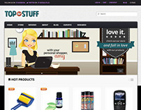 Top TV Stuff Website Redesign