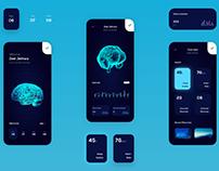 Futuristic Memory Upload Concept App
