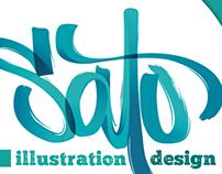 Sato / Illustration & Design