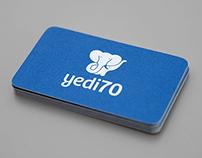 yedi70 Logo Design