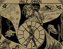 Pale Robin Wheel of the Damned Packaging & Merchandise