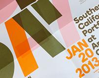 Portfolio Day Poster 2013