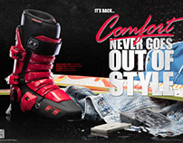 Full Tilt Boot Print Ads