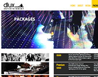 Web Design: DJ dluxent.com