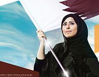 """Qatar's Fortune"" 2011 Intergrated Campaign"