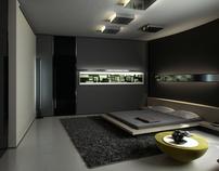 Enot residence. Bedroom.