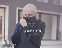 "British Vogue x Jaeger ""Today I'm wearing"""
