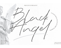FREE | Black Angel Signature Script