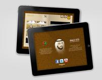 Kullunna Khalifa - iPad application UI design