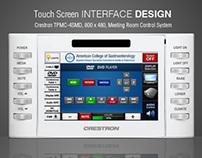 Touch Screen Interface Design - ACG
