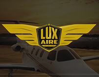 LUX AIRE Aviation Logo/Branding