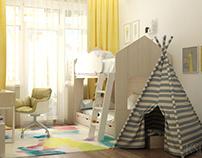 Interior Design from KSD. Child's Bedroom