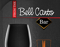 Bell Canto Bar (Menu)